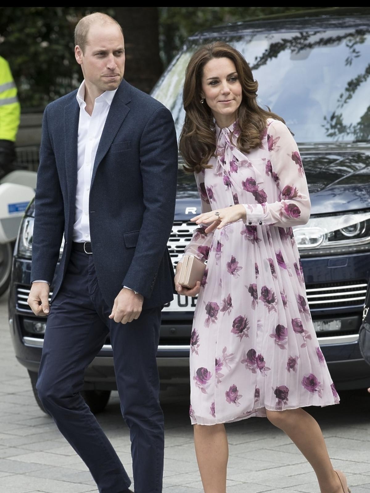 Kate Middleton i książę William