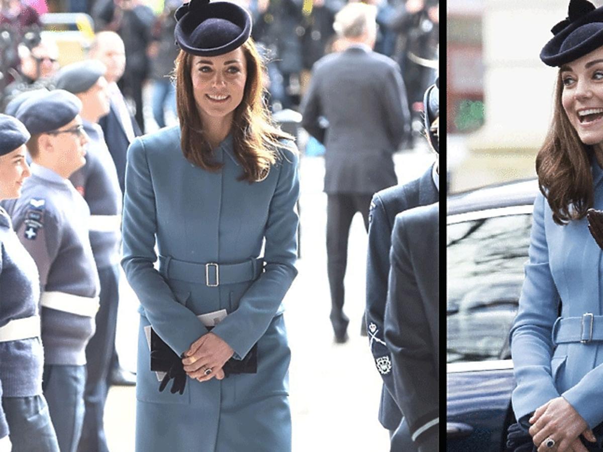 Kate Middleton w drodze do kościoła w Londynie