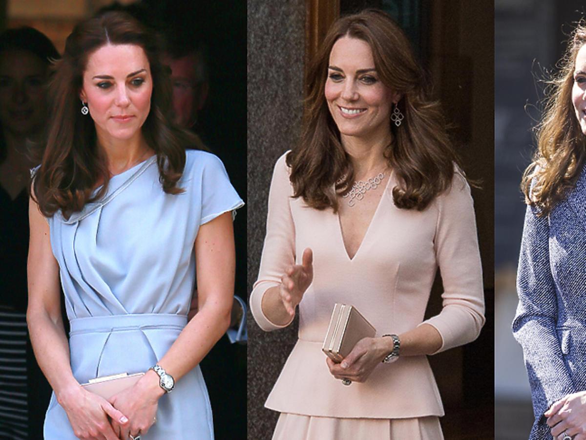 Kate Middleton w eleganckich strojach