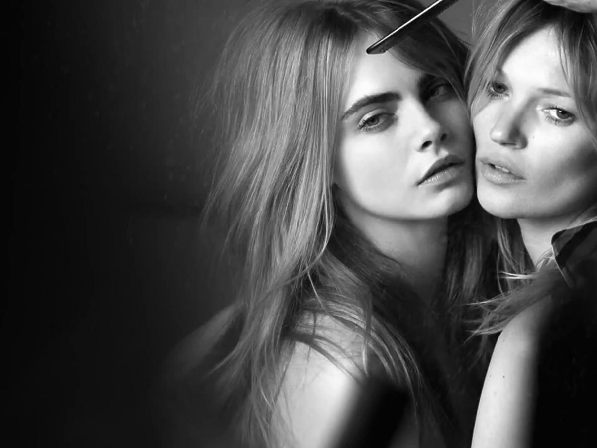 Kate Moss i Cara Delevingne w sesji dla