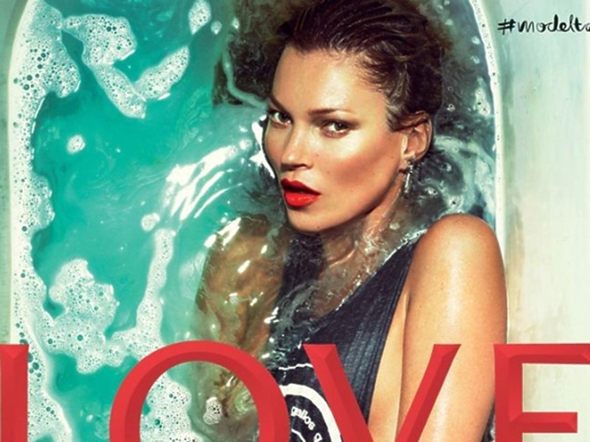 """Kate Moss w najnowszym numerze magazynu """"Love"""""""