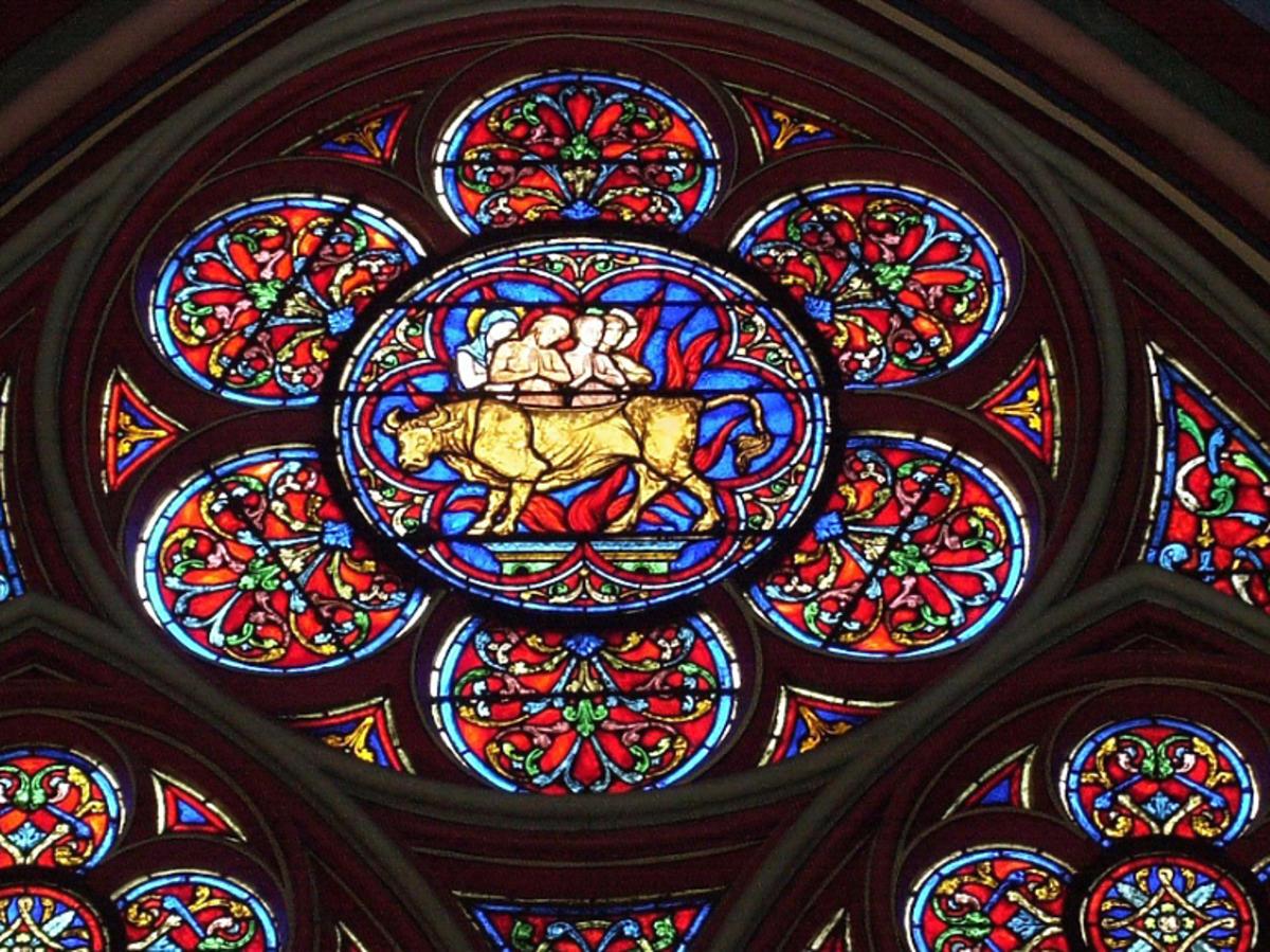 katedra Notre Dame witraże