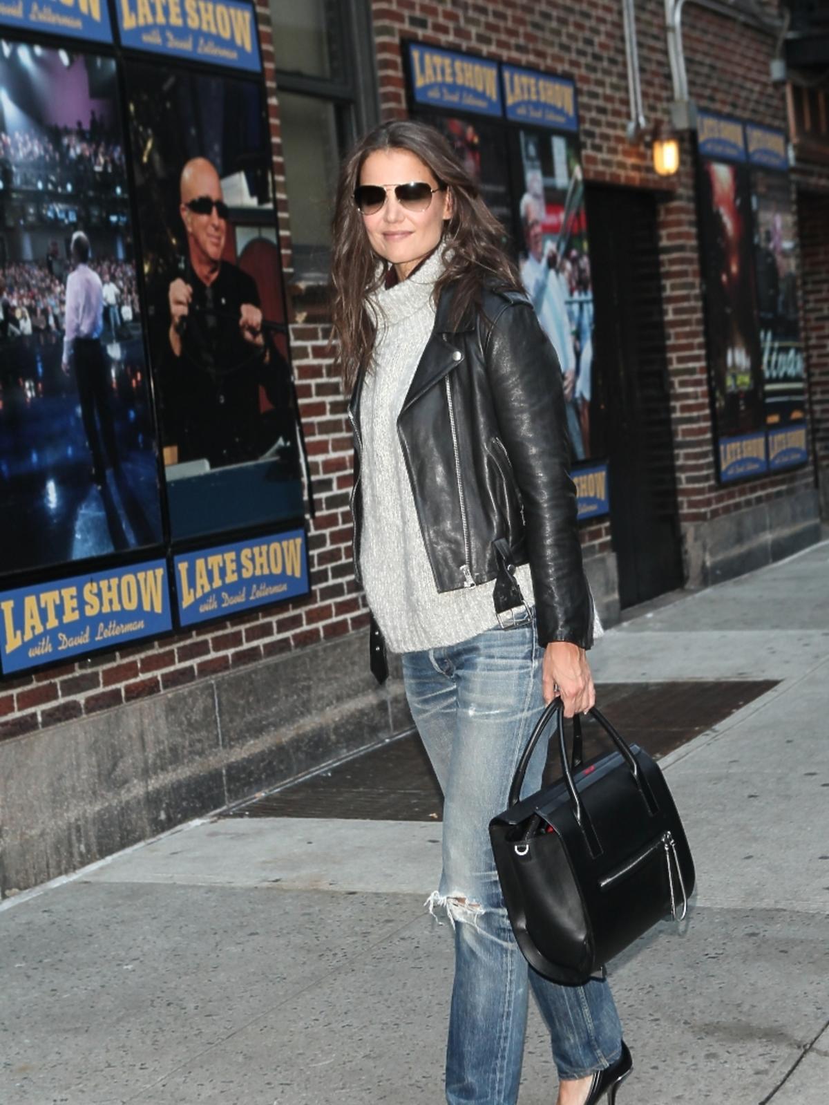 Katie Holmes w Nowym Jorku