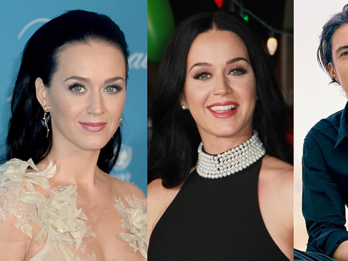 Katy Perry i Orlando bloom zmienili fryzurę na jasny blond