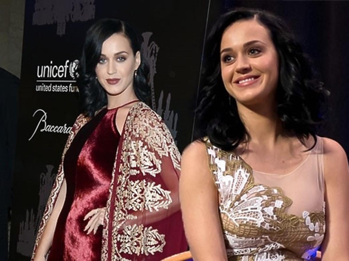 Katy Perry na balu Unicef w Nowym Jorku