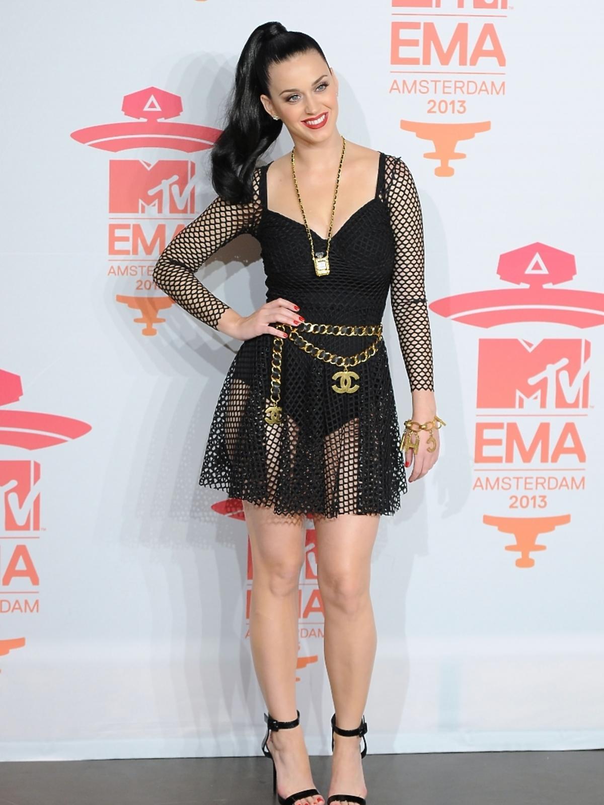 Katy Perry na gali MTV EMA 2013 w Amsterdamie