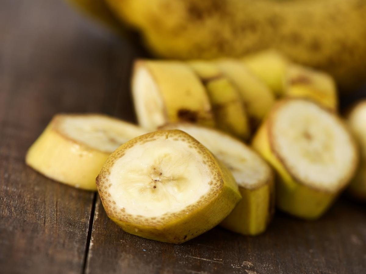 kawałki banana