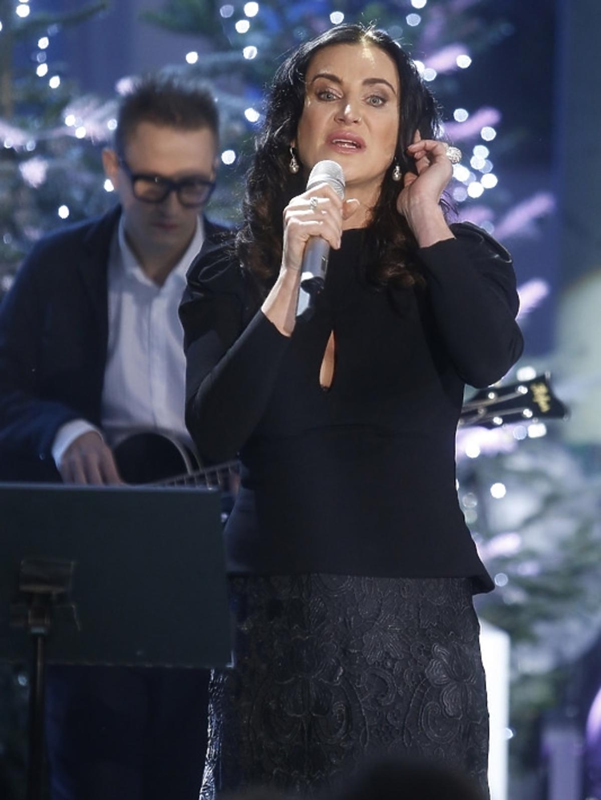 Kayah podczas świątecznego koncertu w Pałacu Prezydenckim