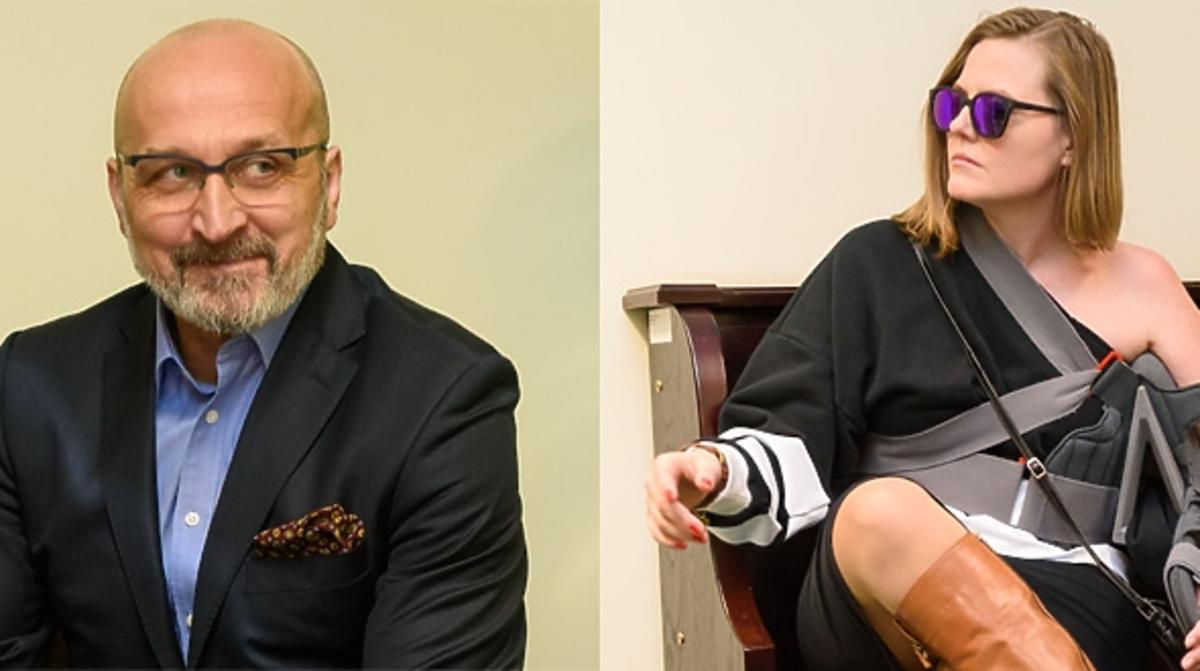 Kazimierz Marcinkiewicz i Izabel Marcinkiewicz na kolejnej rozprawie rozwdowej