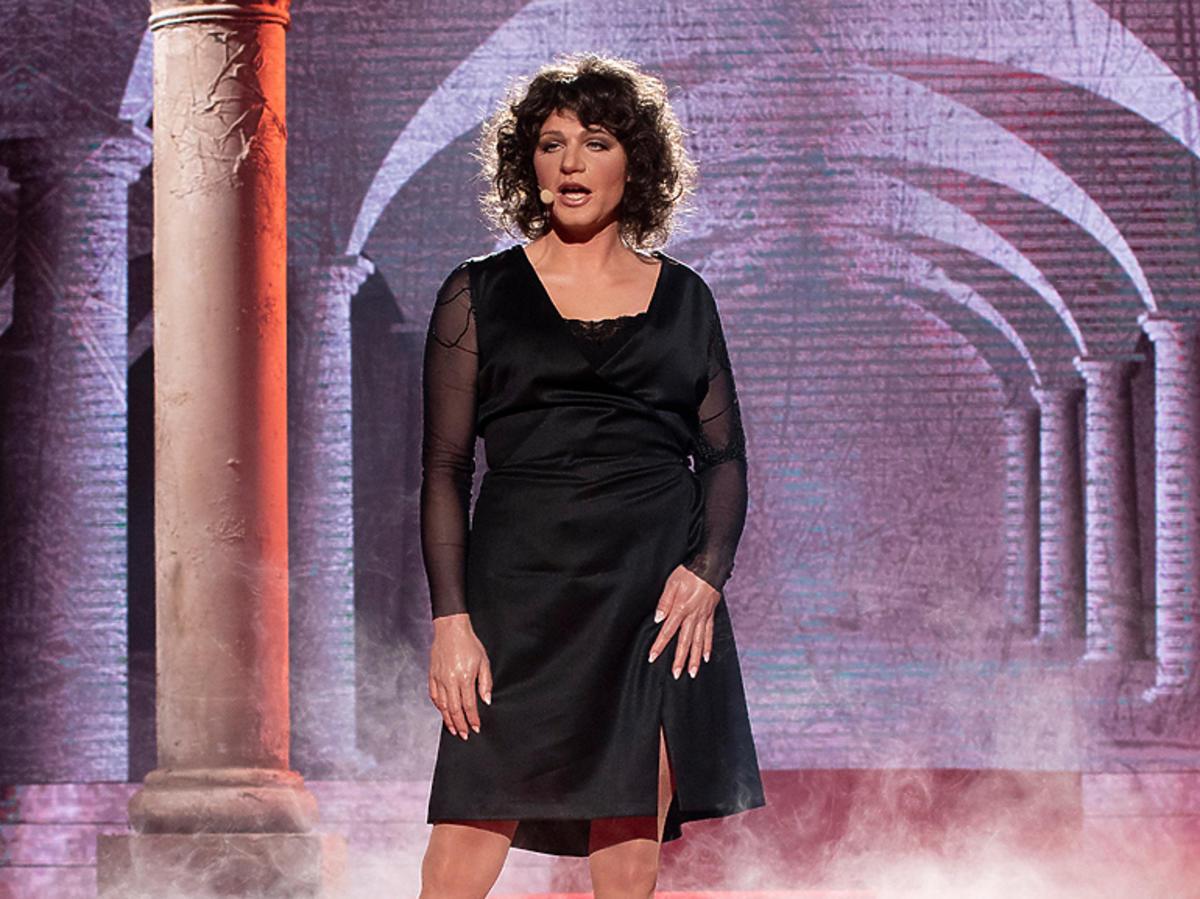 Kazimierz Mazur jako Halina Frąckowiak