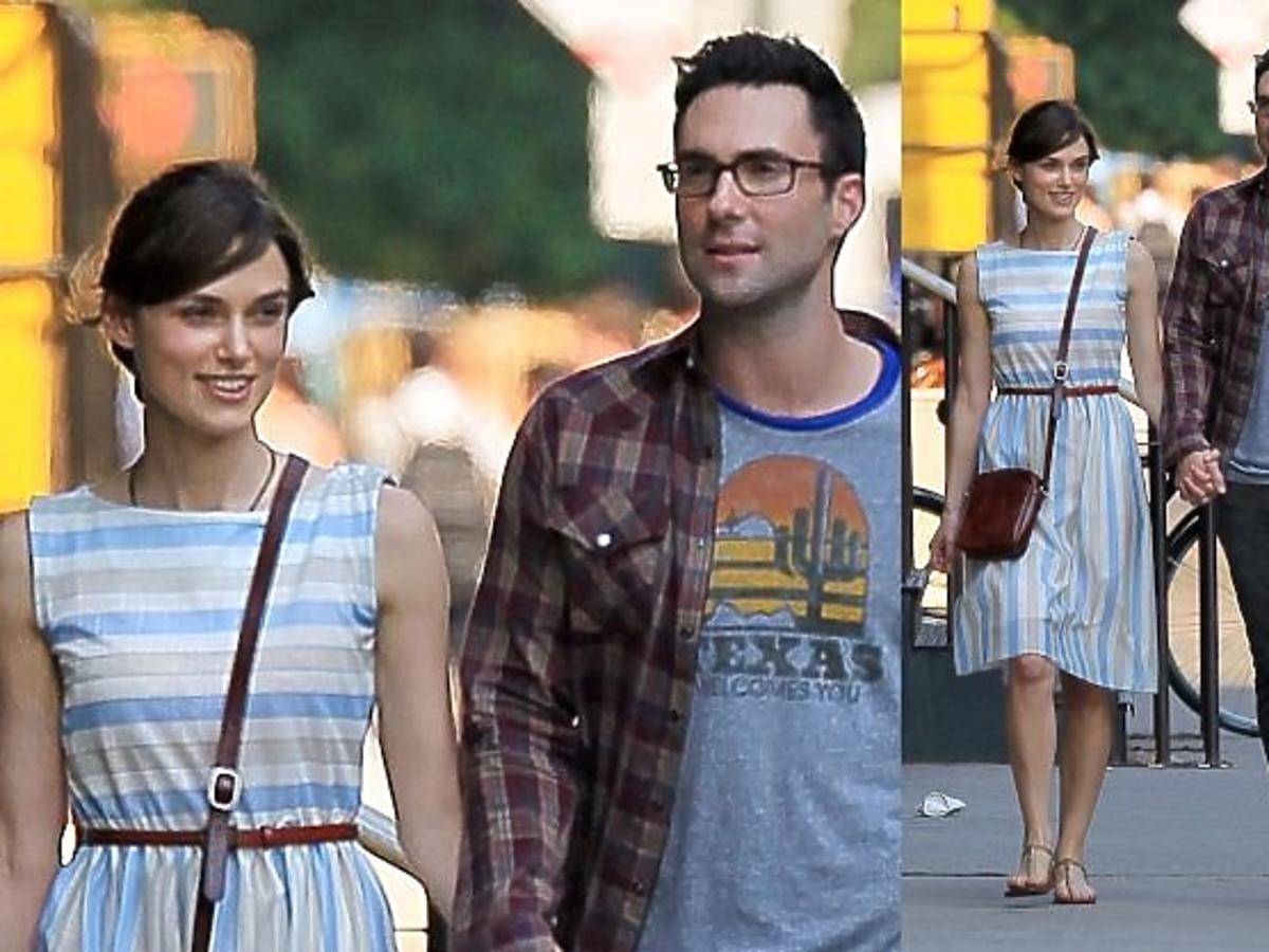 keira knightley, adam levine, paparazzi, Can a Song Save Your Life