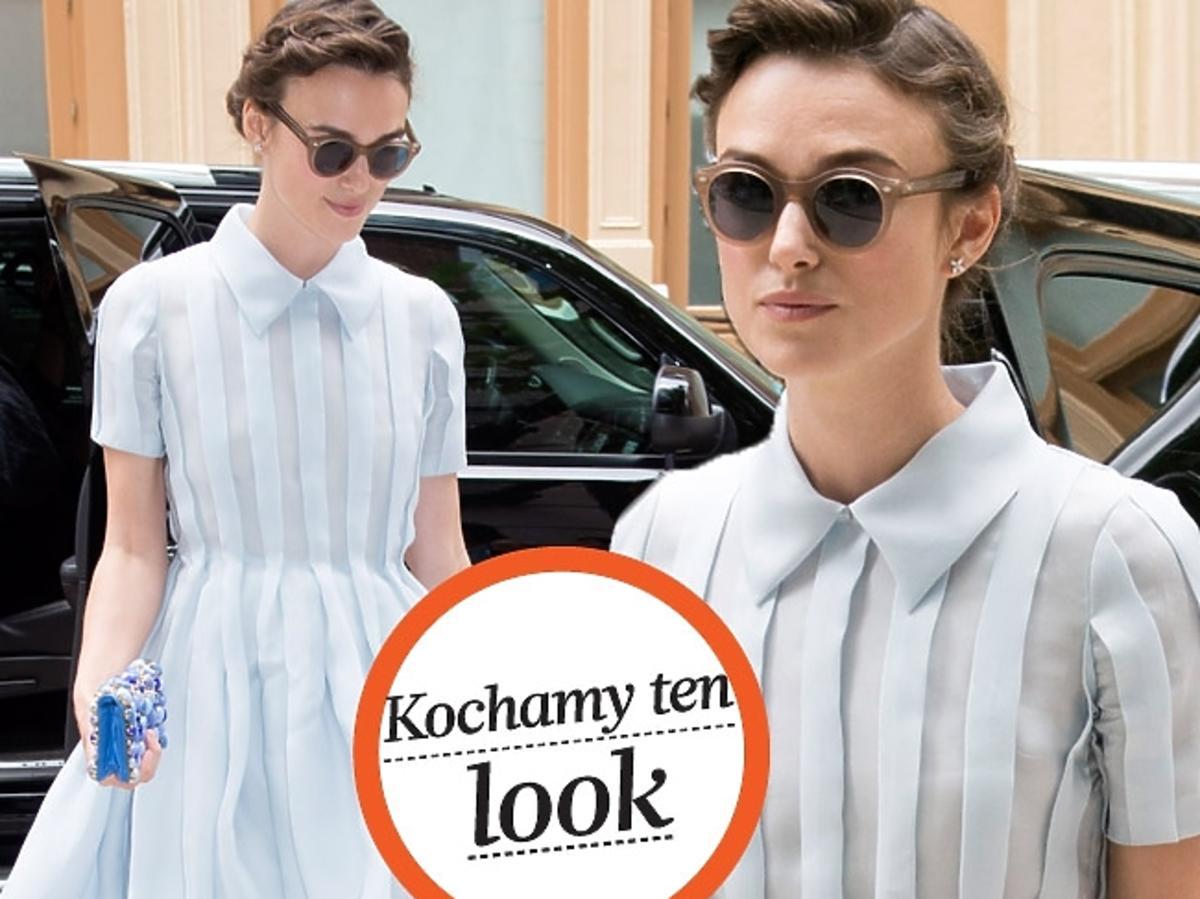 Keira Knightley w sukience Prady