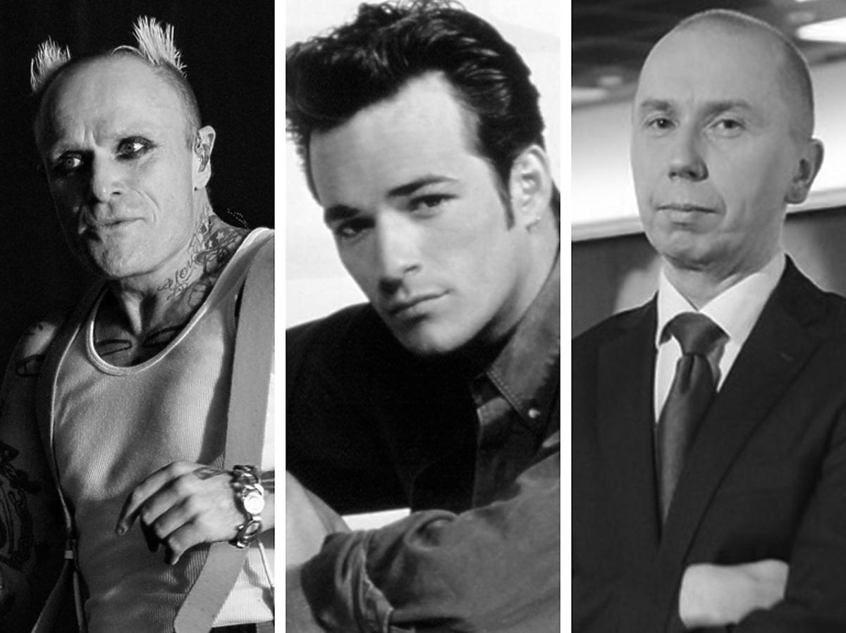 Keith Flint, Luke Perry, Sebastian Podkościelny