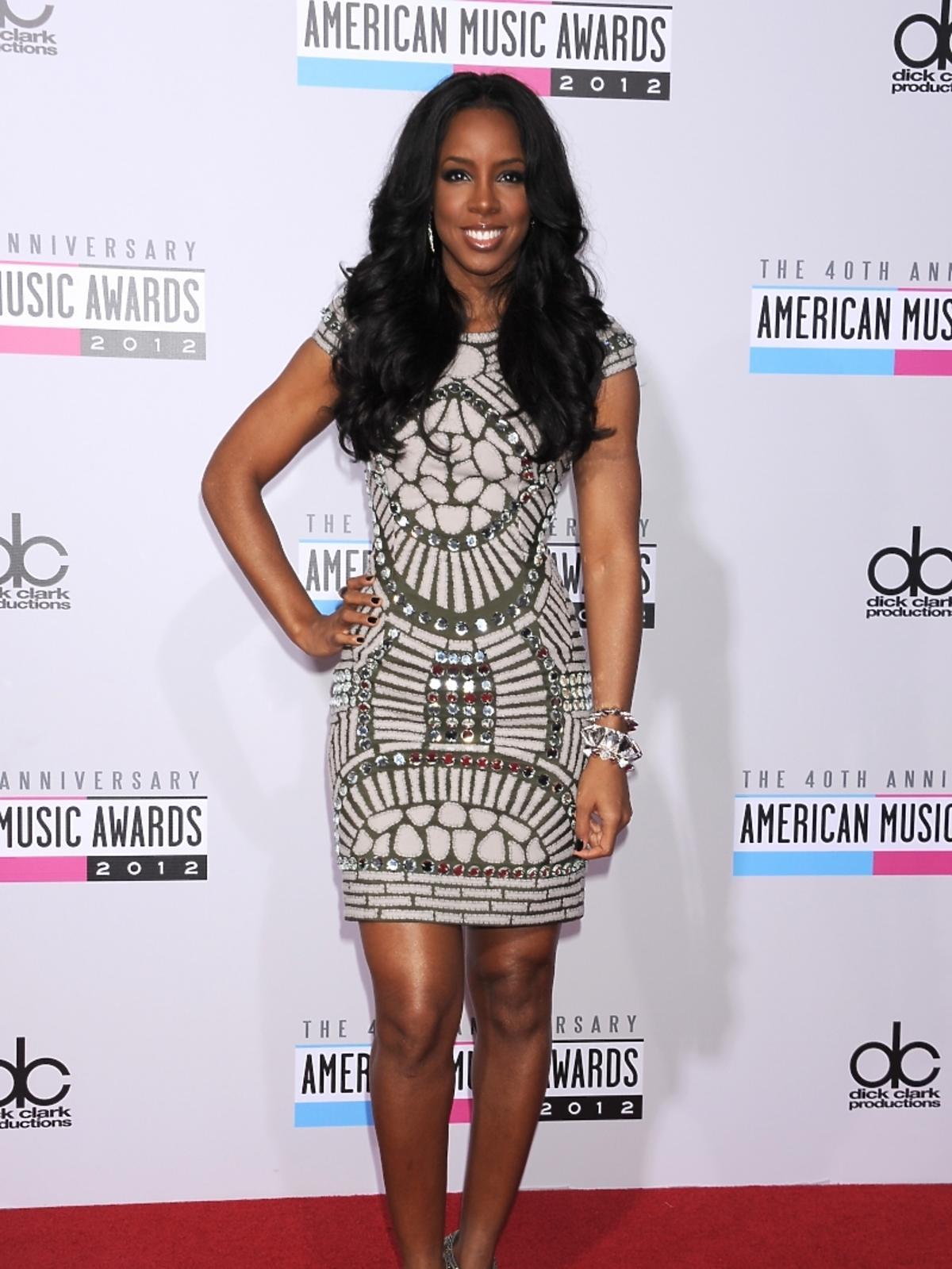 Kelly Rowland na rozdaniu nagród American Music Awards