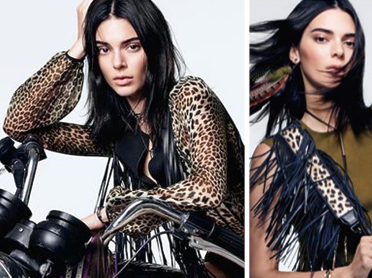 Kendall Jenner for Longchamp