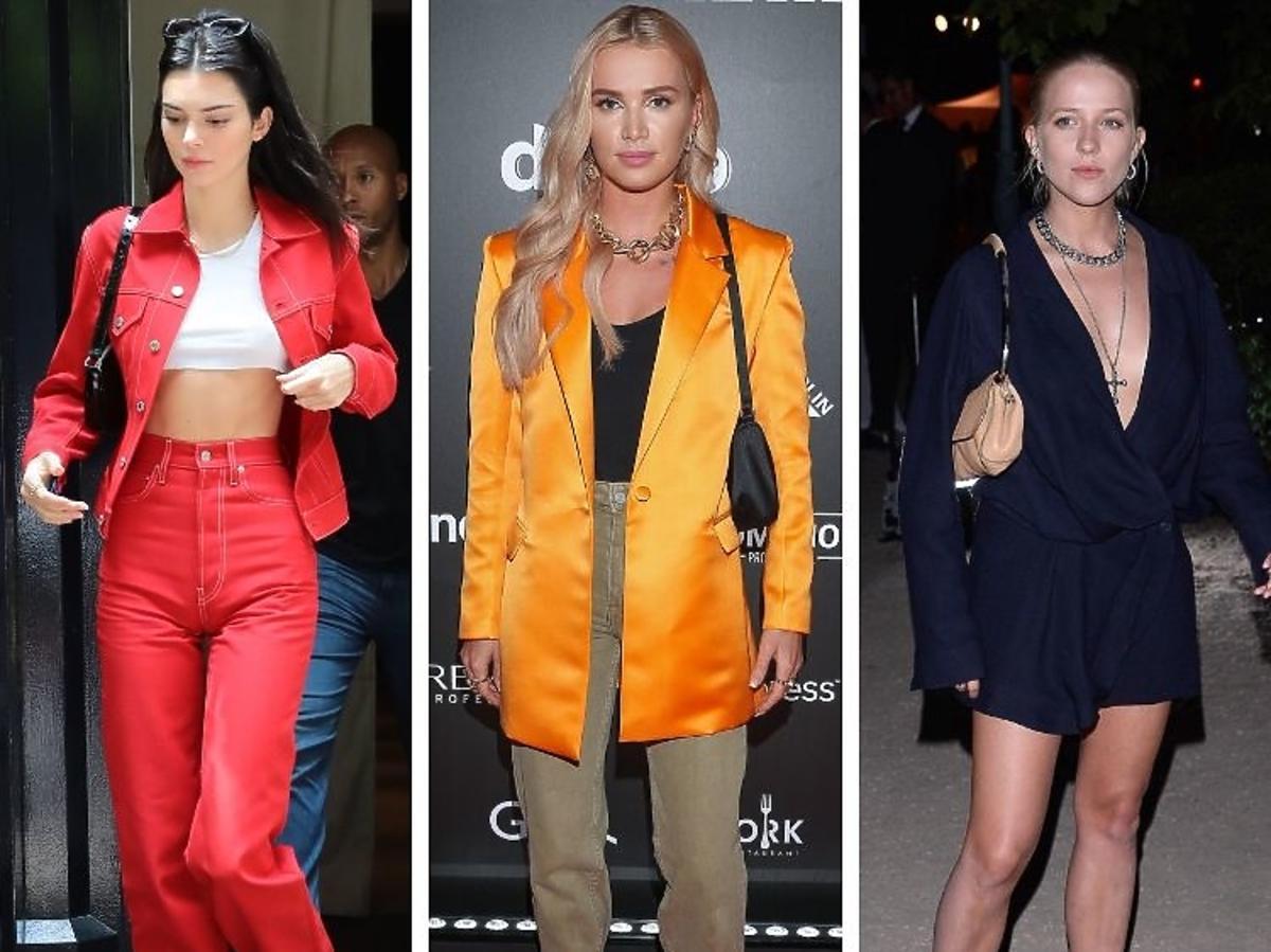 Kendall Jenner, Maffashion, Jessica Mercedes z torebkami na ramię typu Baguette