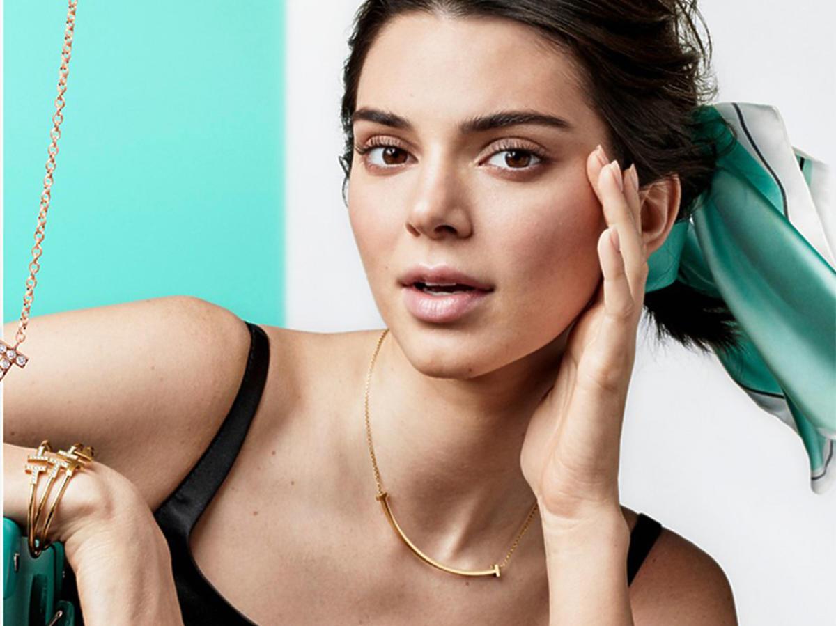 Kendall Jenner w kampanii biżuterii wiosna-lato 2019 Tiffany & Co.