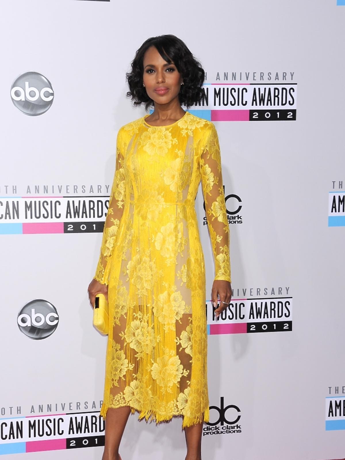 Kerry Washington na rozdaniu nagród American Music Awards