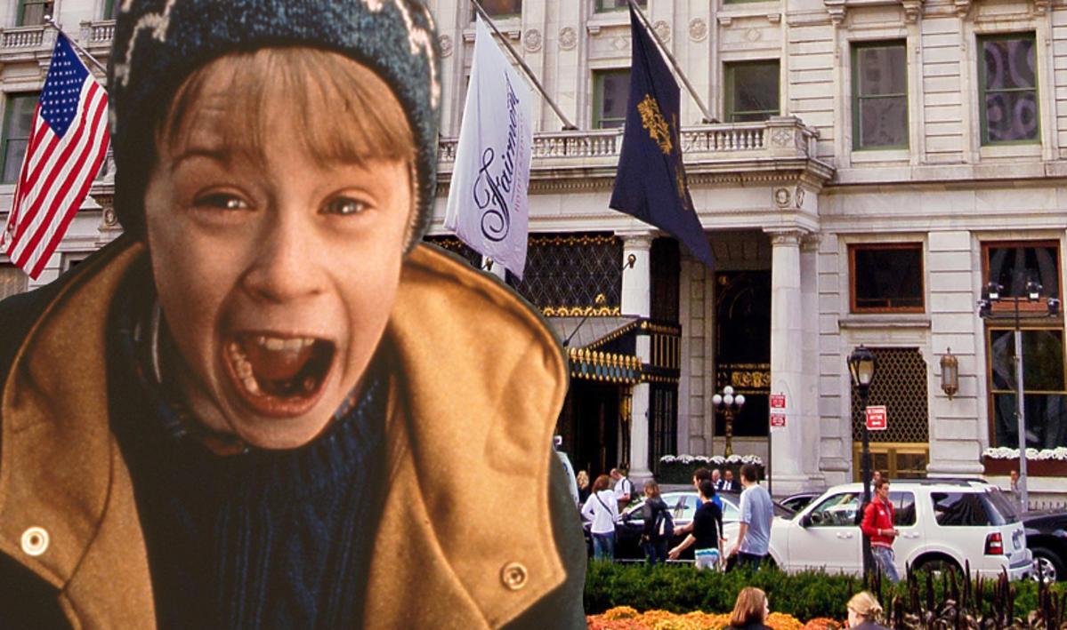 Kevin sam w Nowym Jorku, kadr z filmu