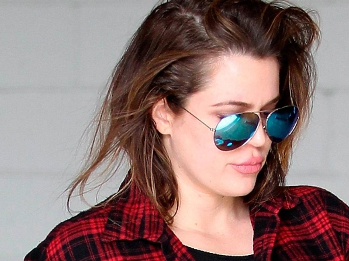 Khloe Kardashian wraca z treningu