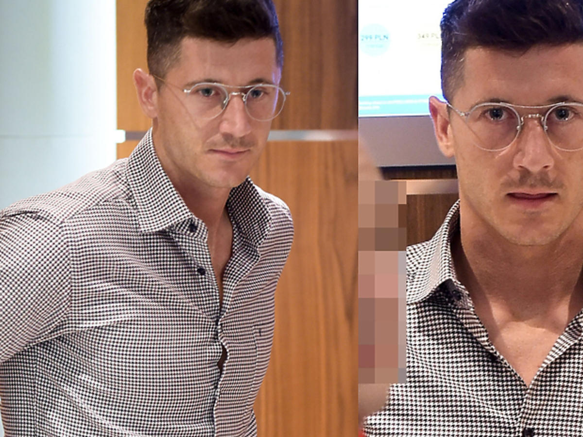 """""""Kibice mają się martwić czy to dla bajeru?"""" Wiemy, dlaczego Lewandowski nosi okulary!"""