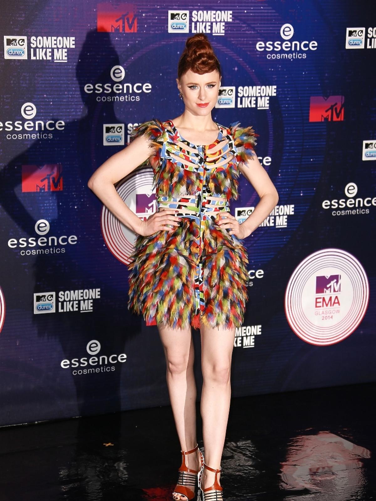 Kiesza na MTV EMA 2014 w Glasgow