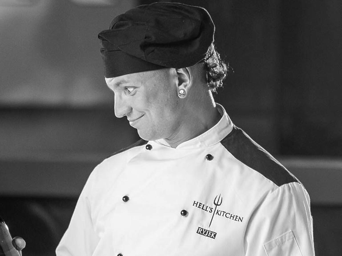 """Kim jest Mariusz Ryjek z """"Hell's Kitchen""""? Mariusz Ryjek z """"Hell's Kitchen nie żyje"""
