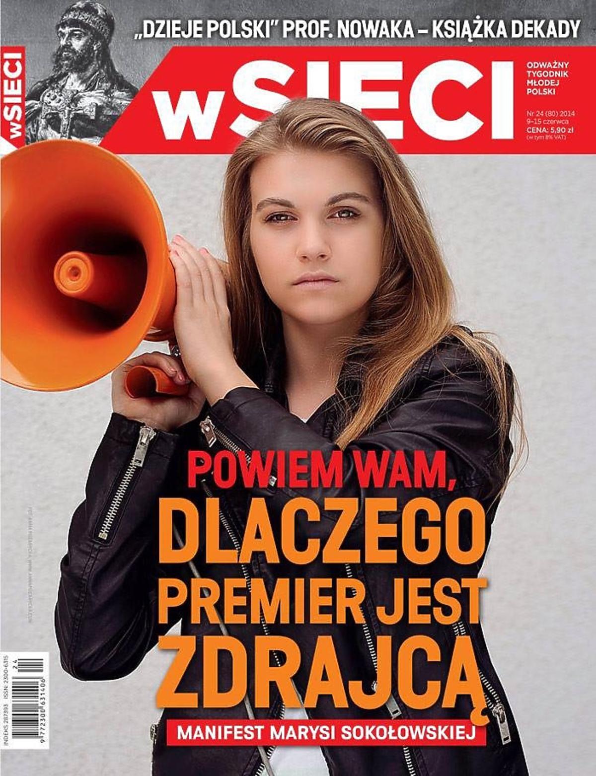 Kim jest Marysia Sokołowska. Marysia Sokołowska od zdrajcy Tuska. Marysia Sokołowska W Sieci