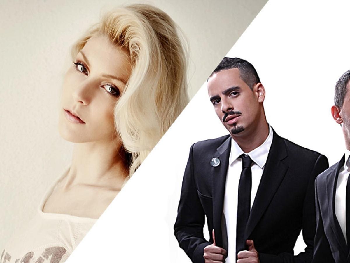 Kim jest Tripl i Meital De Razon z Izraela? Tripl and Meital De Razon Best Israeli Act 2014. Tripl & Meital De Razon MTV EMA 2014