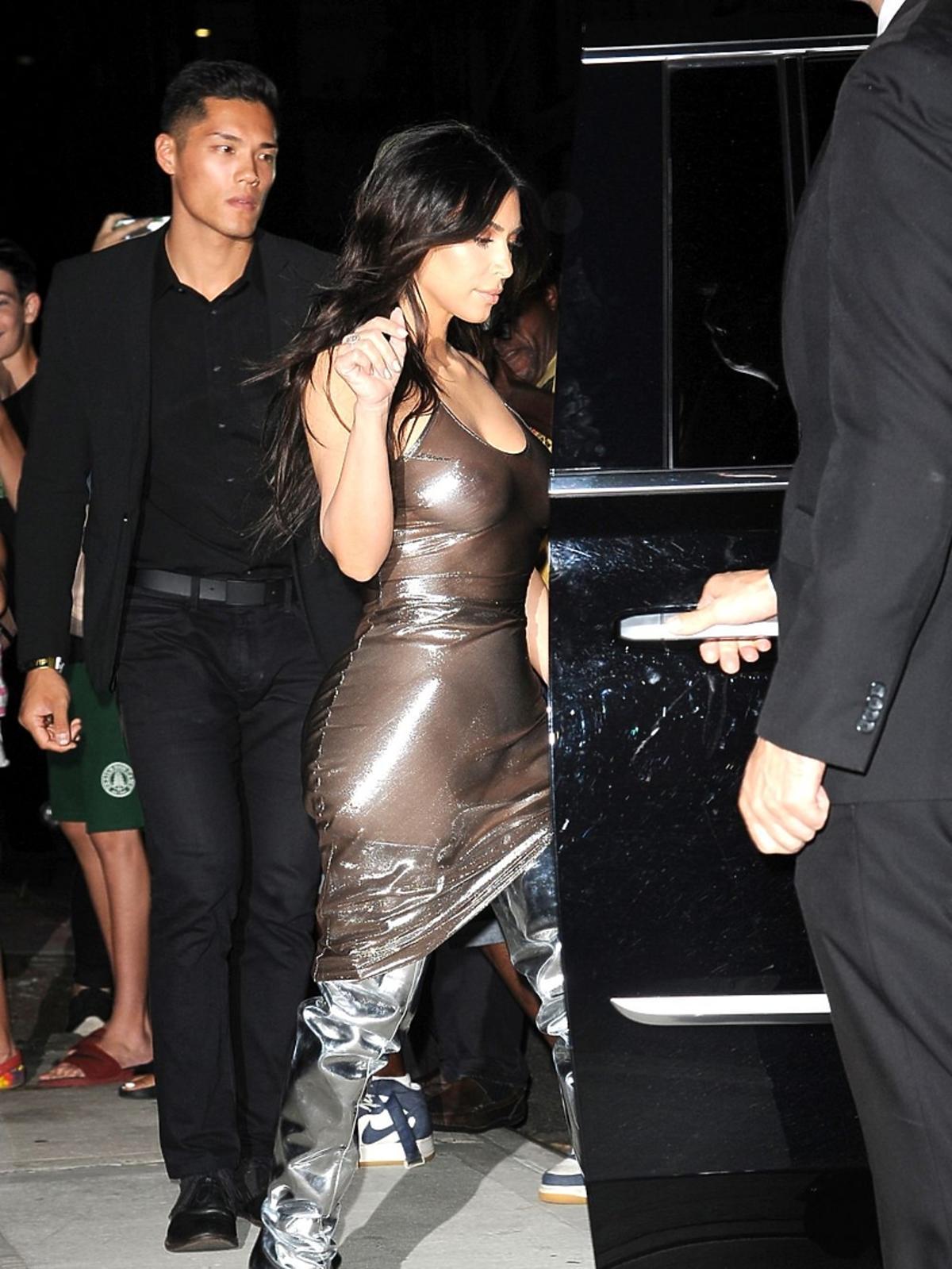 Kim Kardashian fryzura