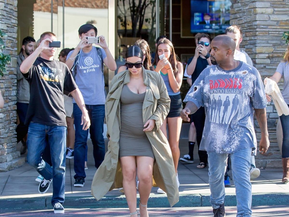 Kim Kardashian i Kanye West już wkrótce po raz drugi zostaną rodzicami