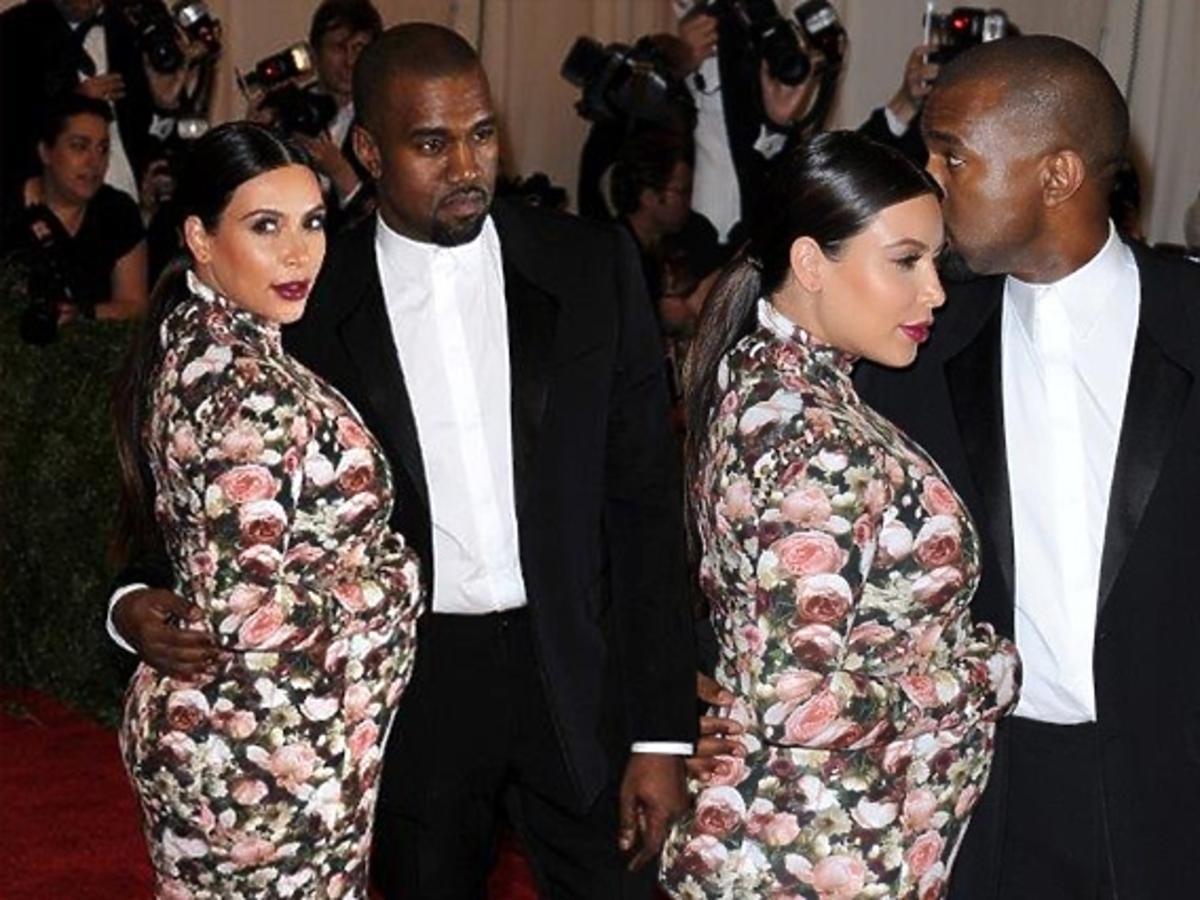 Kim Kardashian i Kanye West na gali MET 2013