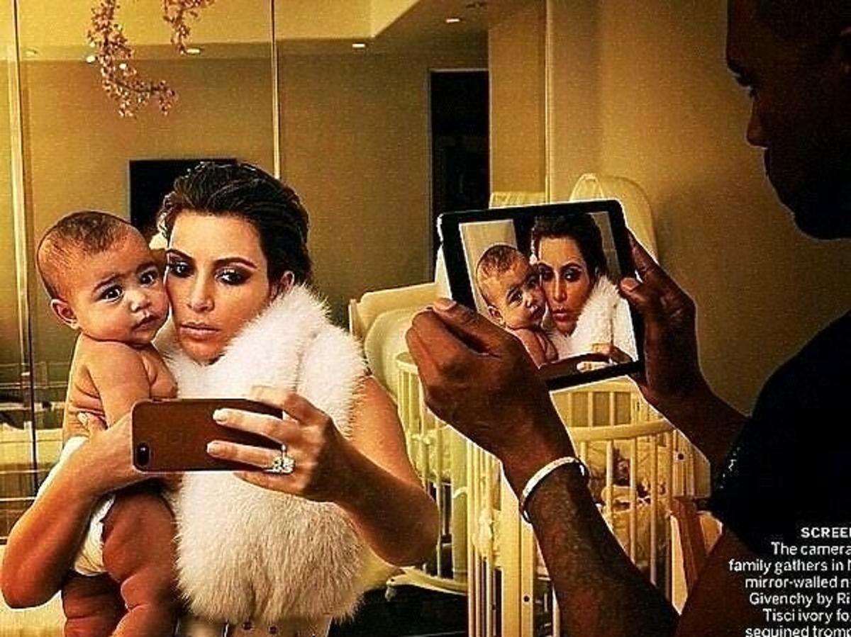 Kim Kardashian i Kanye West sesja Vogue. Zdjęcia Kim Kardashian i Kanye z Vogue. Kardashian w amerykańskim Vogue