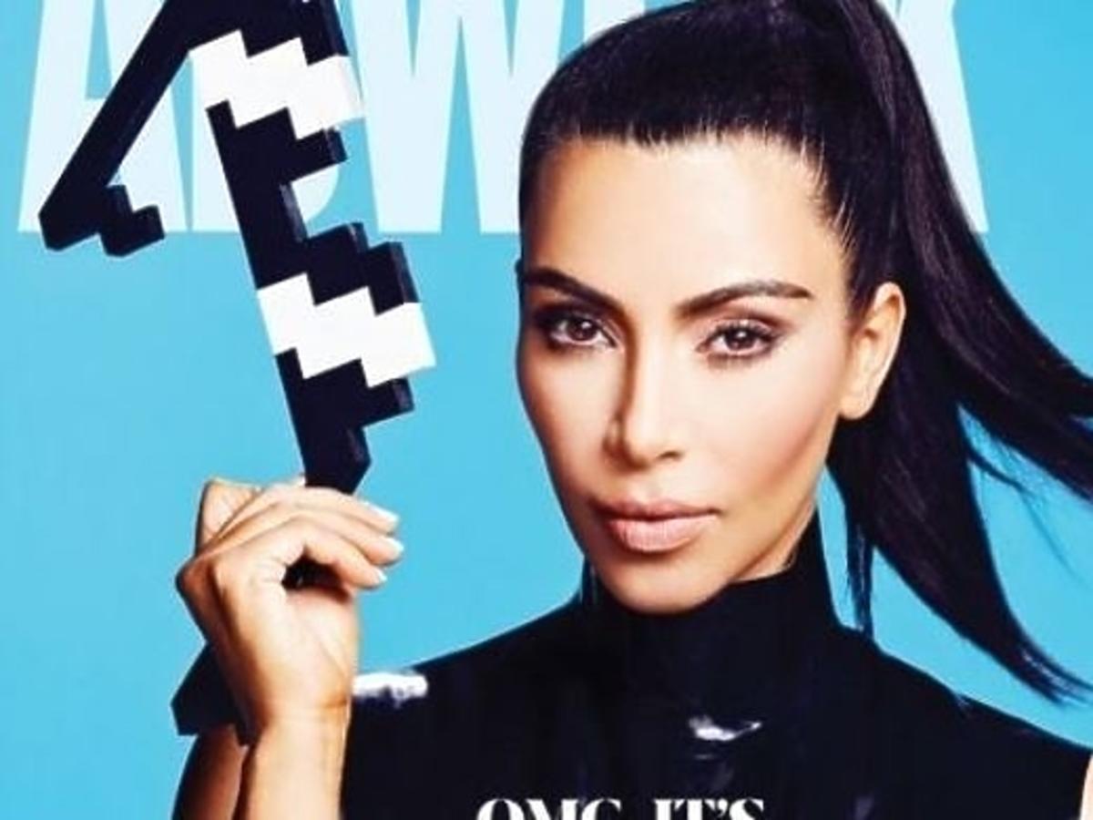 Kim Kardashian jak lalka