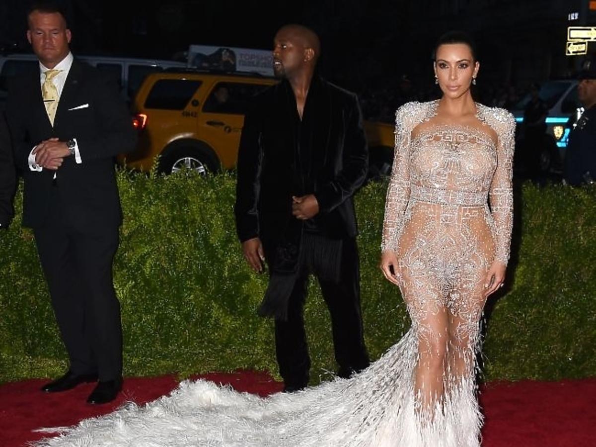 Kim Kardashian na gali MET 2015