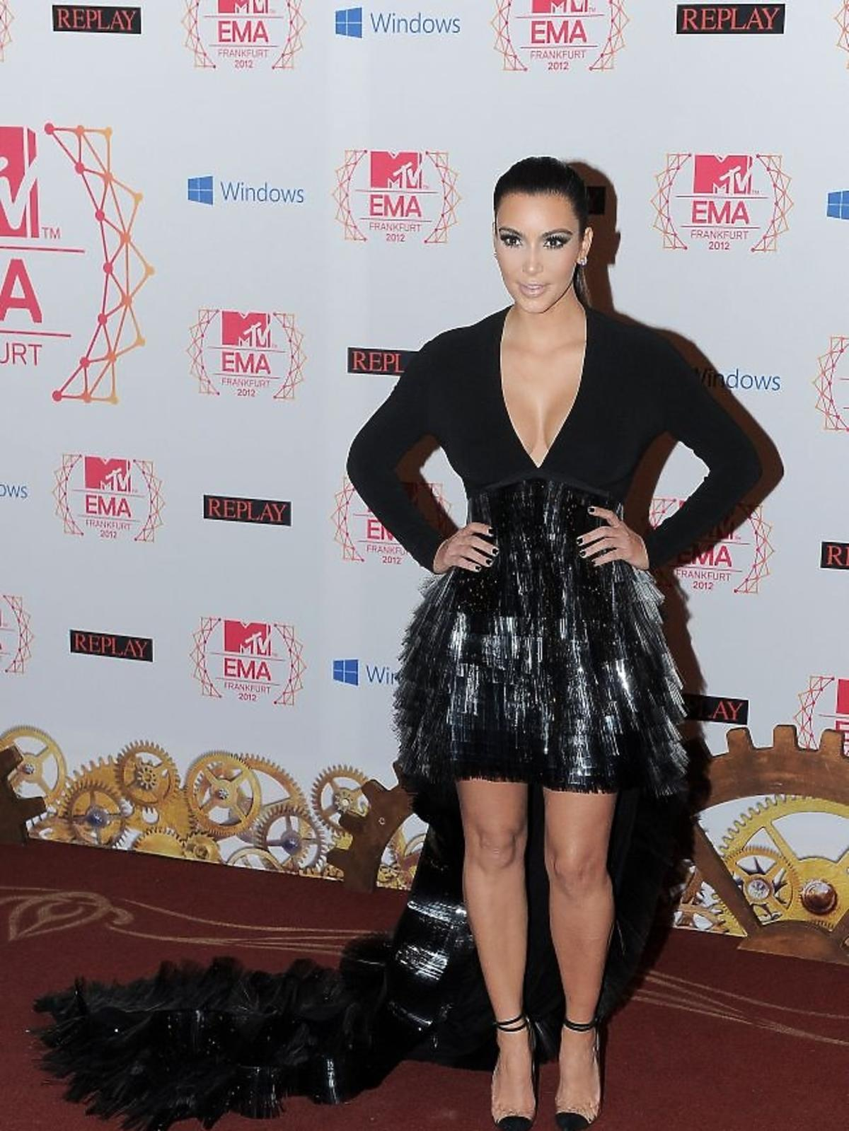 Kim Kardashian na gali MTV EMA 2012