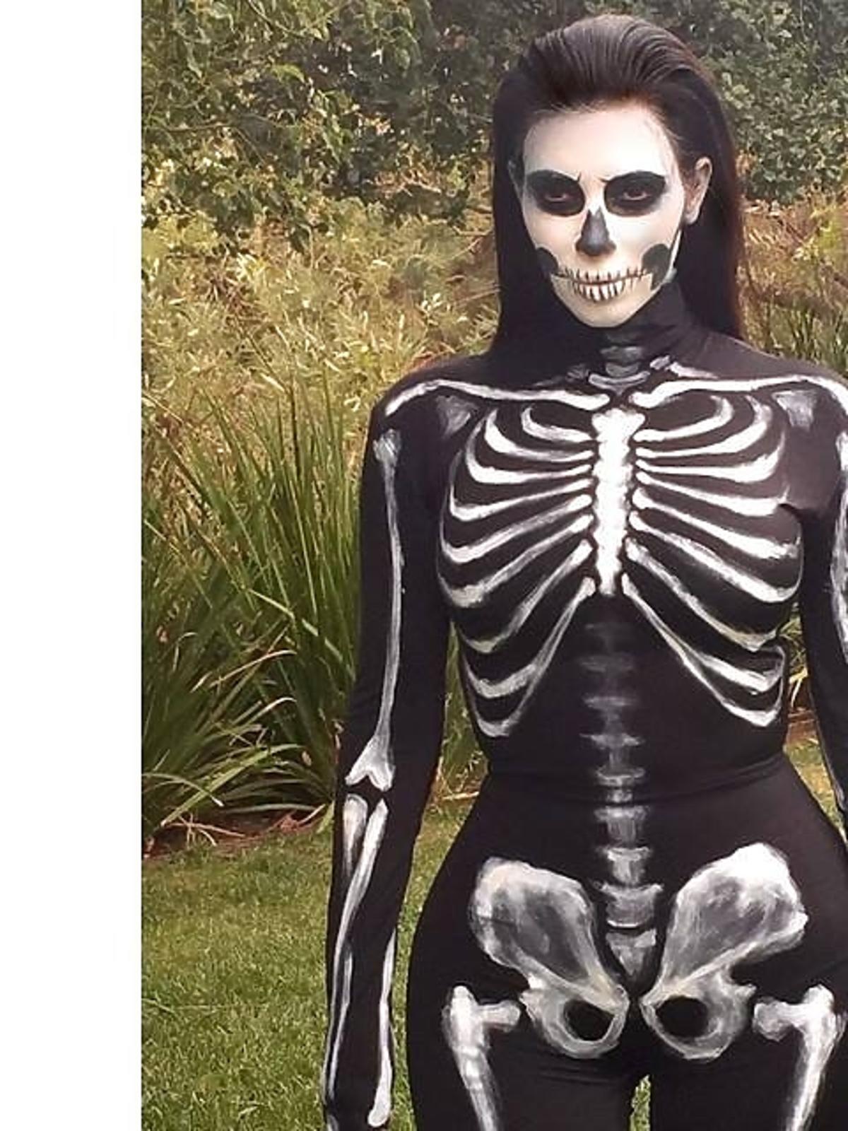 Kim Kardashian na Halloween