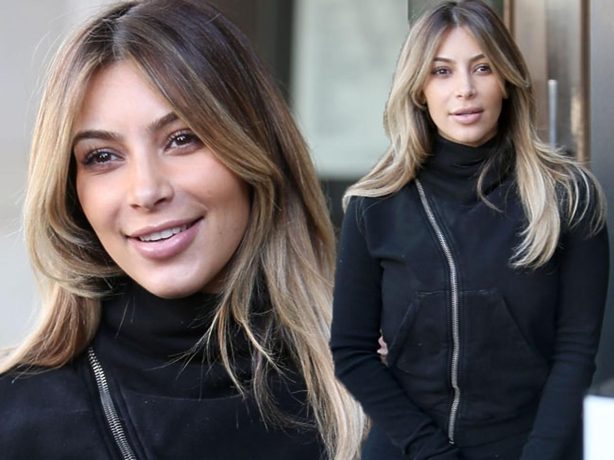 Kim Kardashian na sportowo