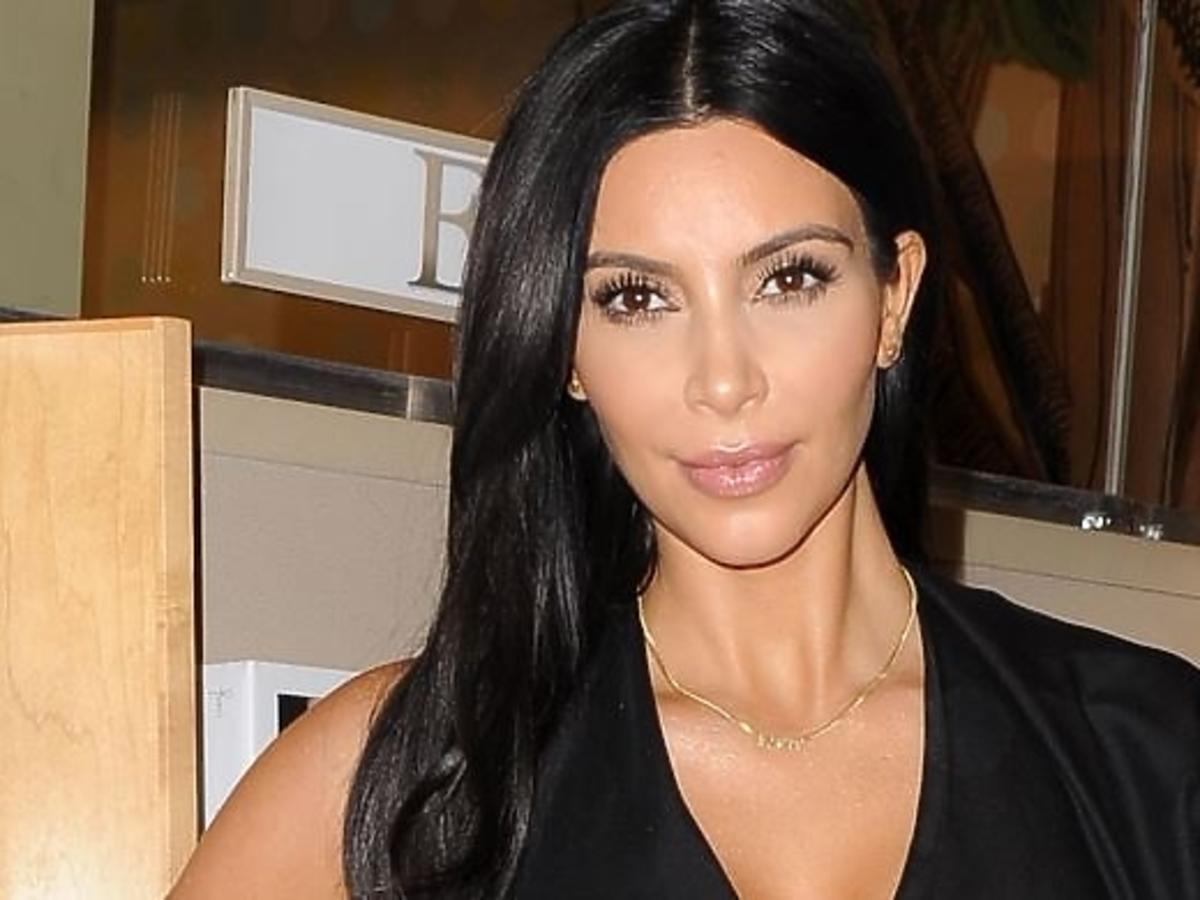 Kim Kardashian promuje swoją książkę
