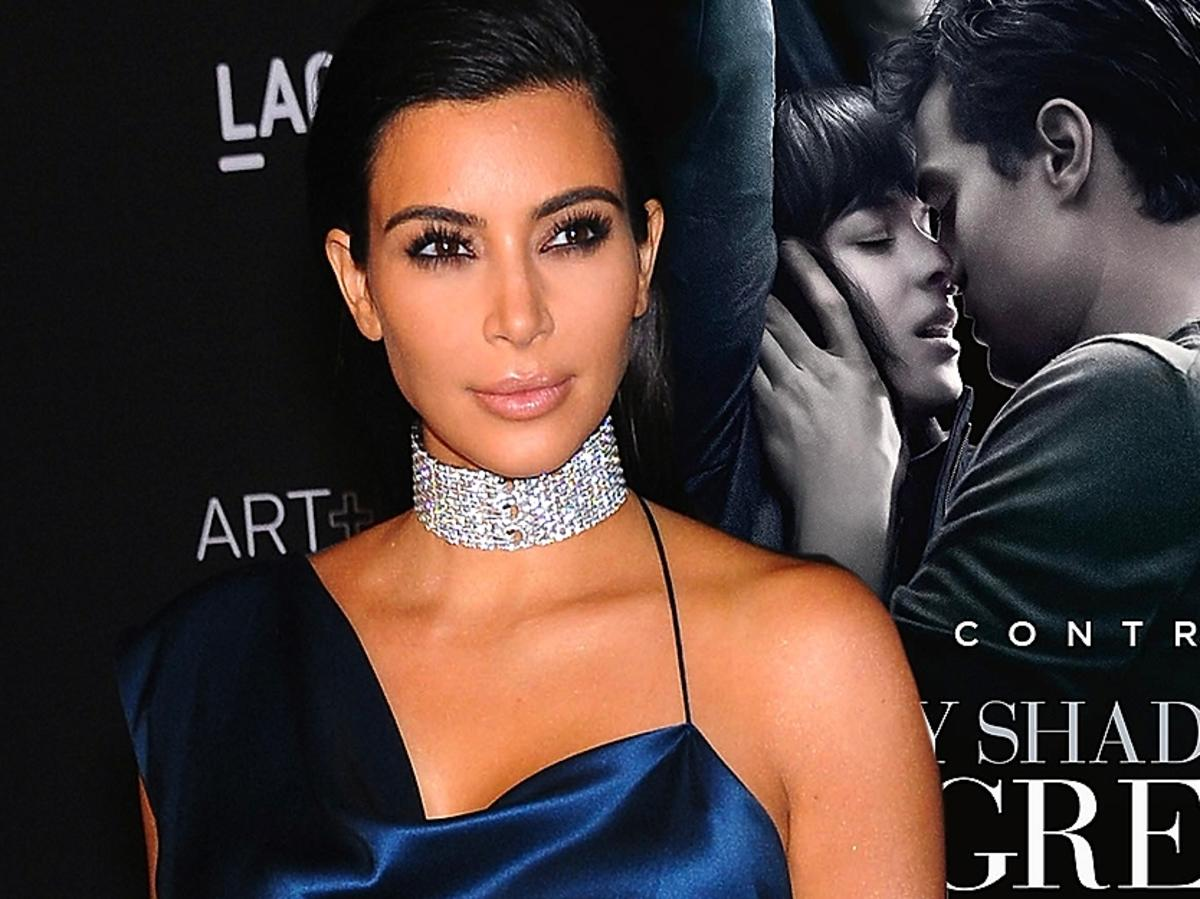 Kim Kardashian recenzja 50 twarzy Greya