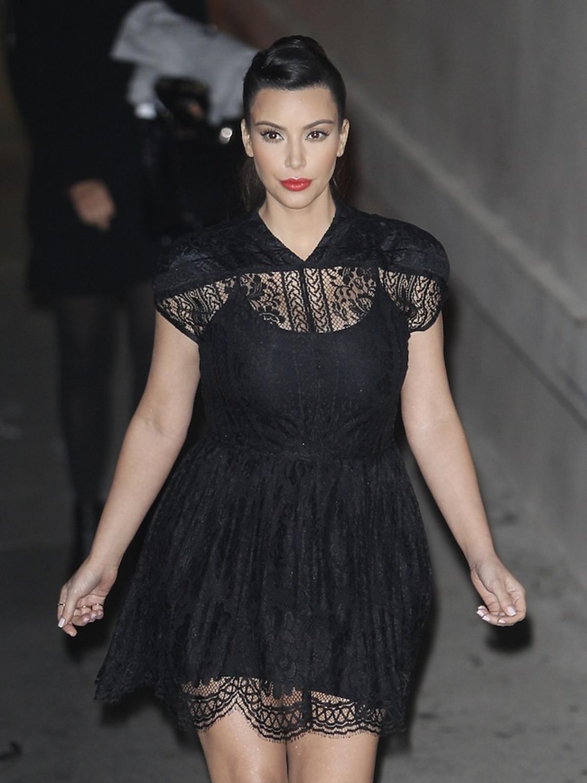Kim Kardashian w ciąży cała w stresie