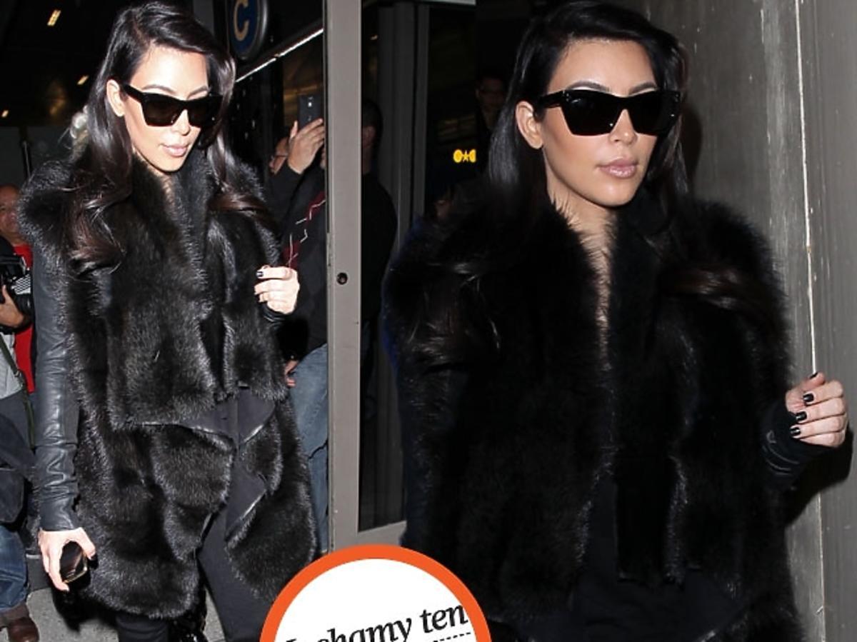 Kim Kardashian w kamizelce
