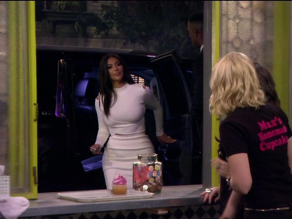 Kim Kardashian w serialu 2 Broke Girls