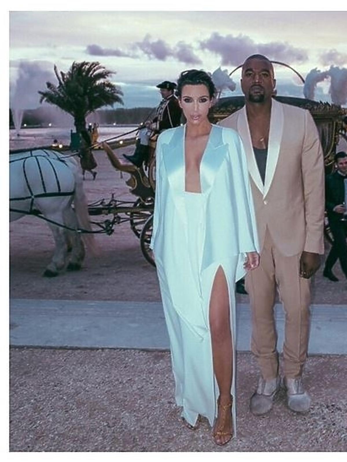 Kim Kardashian wspomina ślub z Kanye Westem