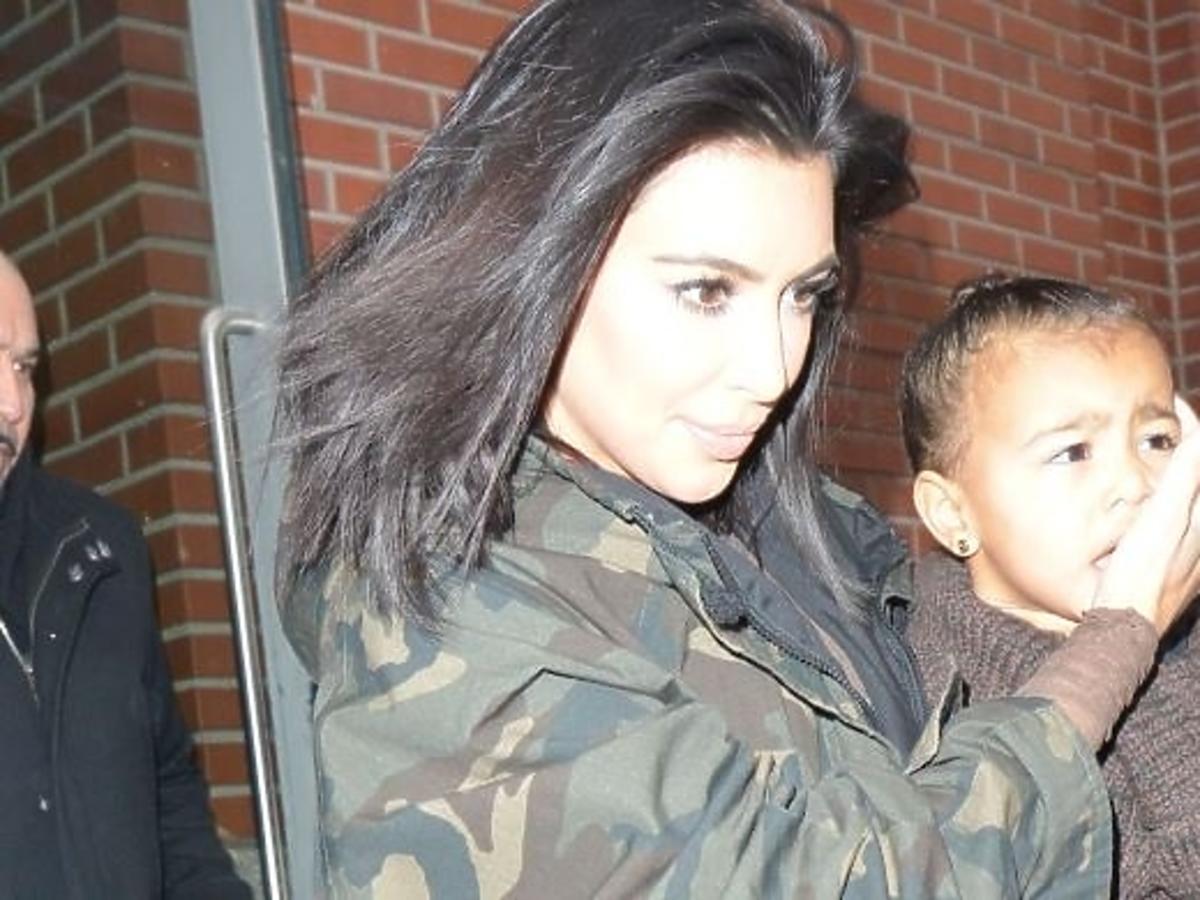 Kim Kardashian wynajęła Disneyland dla North West