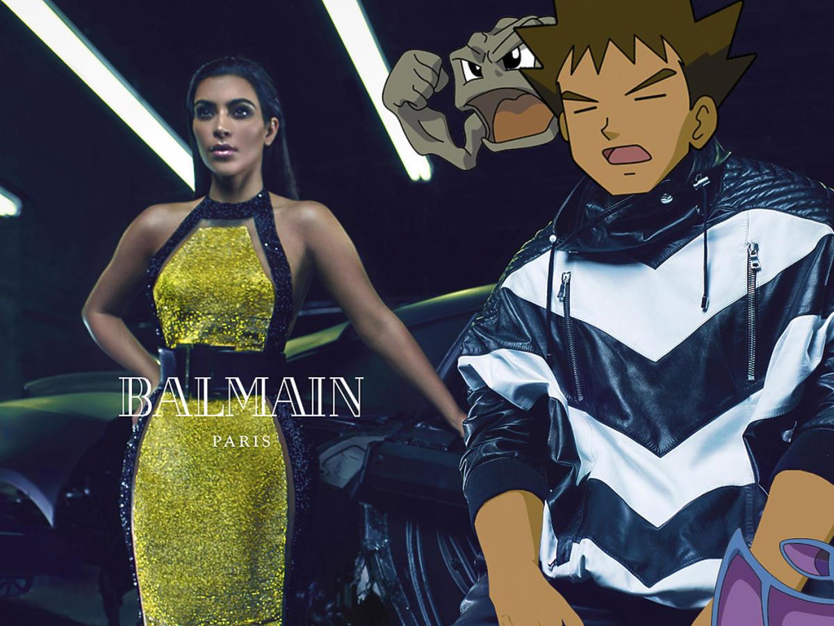 Kim Kardashian z pokemonami