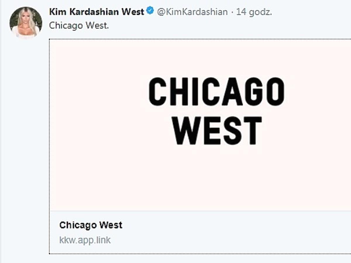 Kim Kardashian zdradziła imię trzeciego dziecka