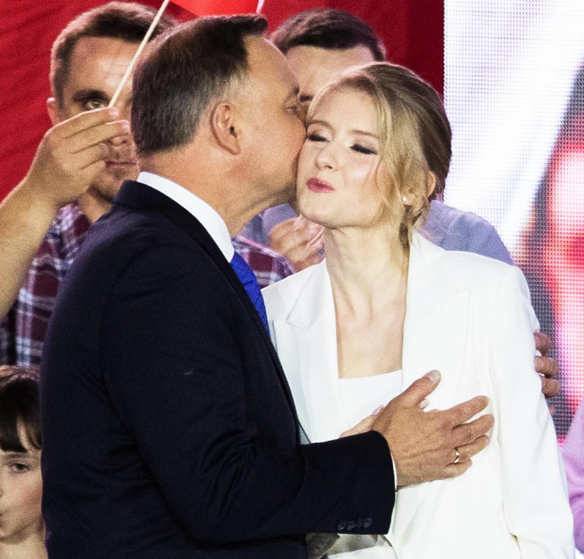 Kinga Duda i Andrzej Duda