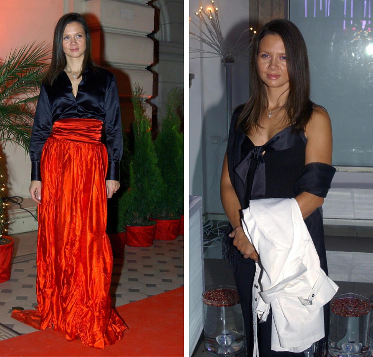 Kinga Rusin 2004 rok stylizacje