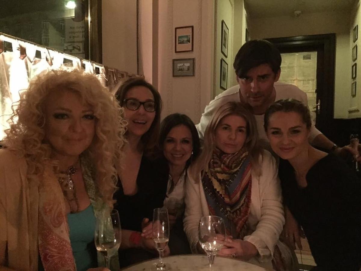 Kinga Rusin i Magda Gessler na urodzinach Marcina Tyszki